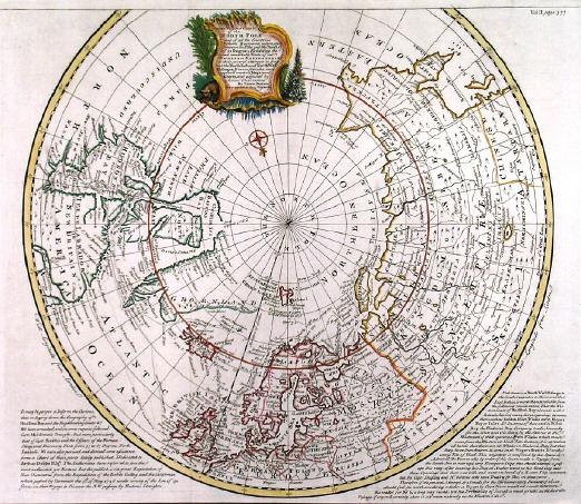 Antique historic old world maps map hemispheres arctic antarctic h19992arcticboweng 102103 bytes gumiabroncs Image collections