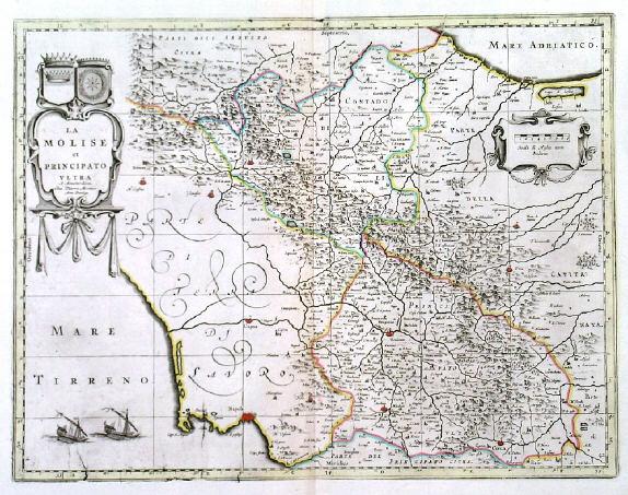 Campania Italy Map