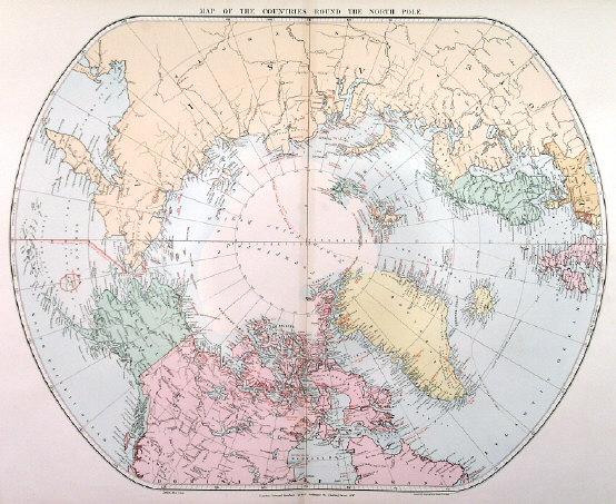 Antique historic old world maps map hemispheres arctic antarctic h25243arcticstanfordg 100782 bytes gumiabroncs Image collections